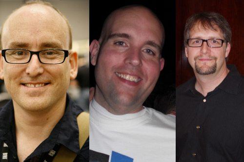 Darren Rowse, Jeremy Shoemaker, Brian Clark