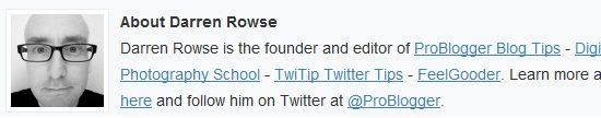 Darren Rowse Problogger Gravatar