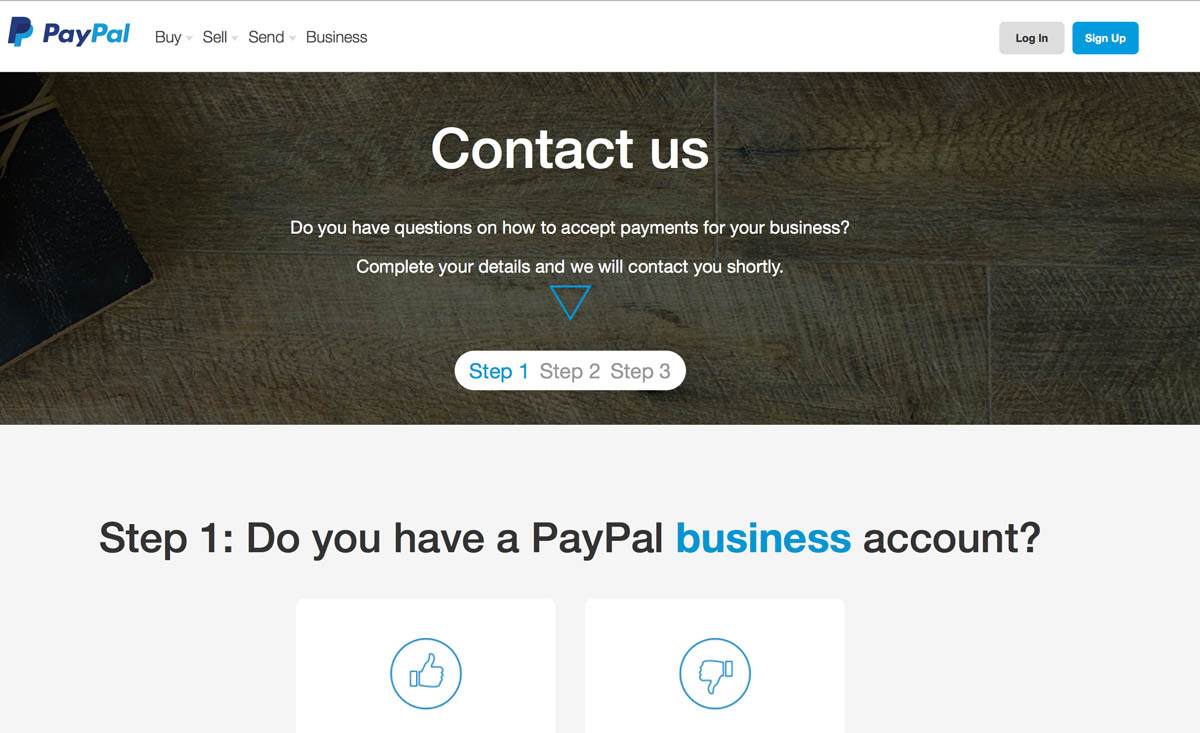 paypal contact