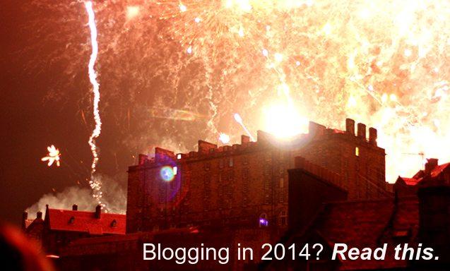 Start a blog in 2014