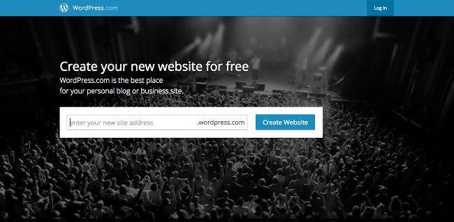start a free wordpress blog