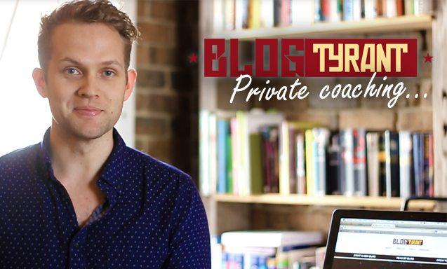 Private blogging coaaching