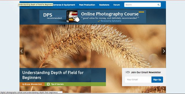 digital photography school sign up