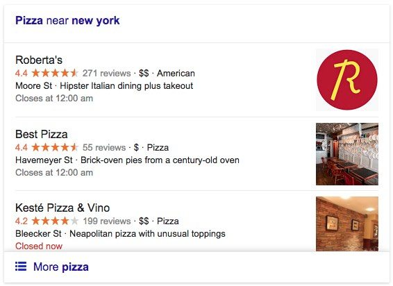new york search results