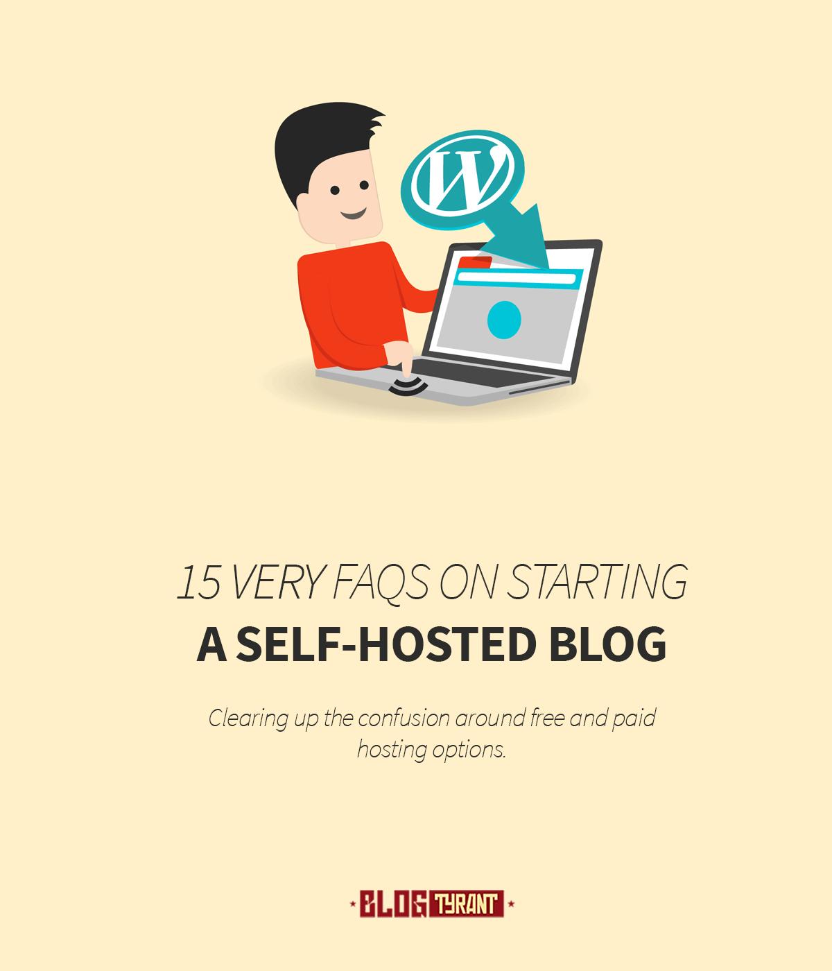 self hosted blog faqs