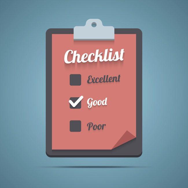 blogging skills checklist
