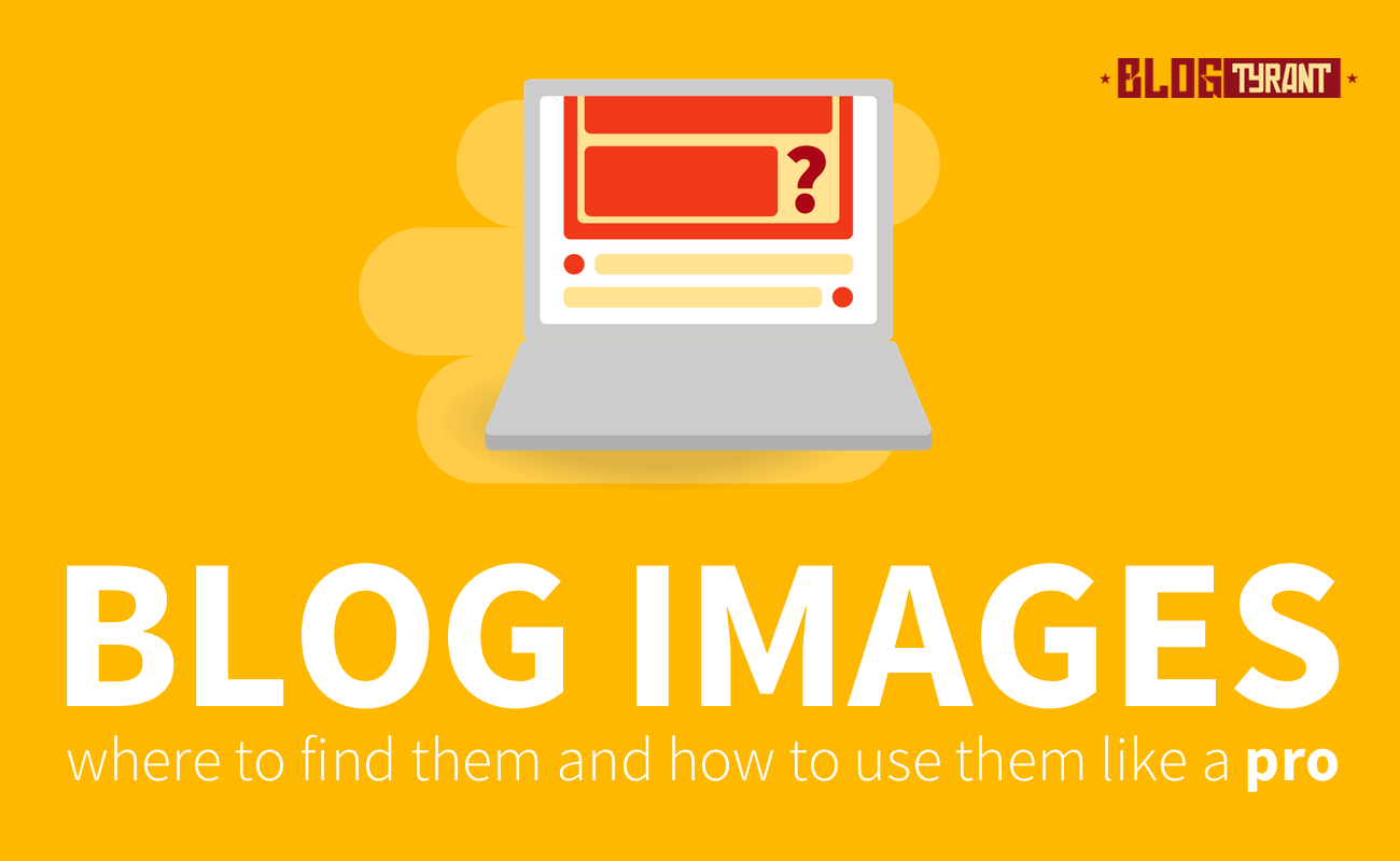 where to find blog images