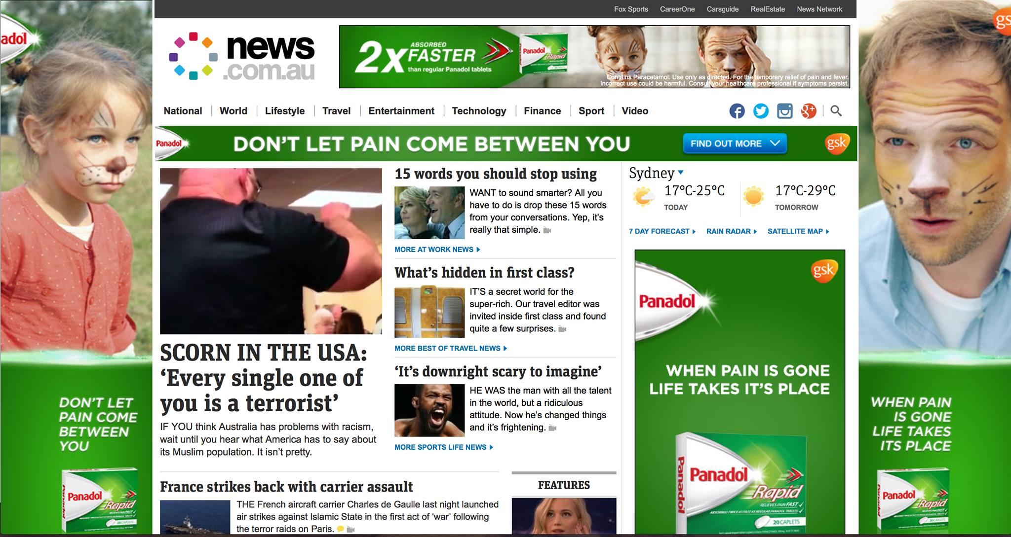 news ads