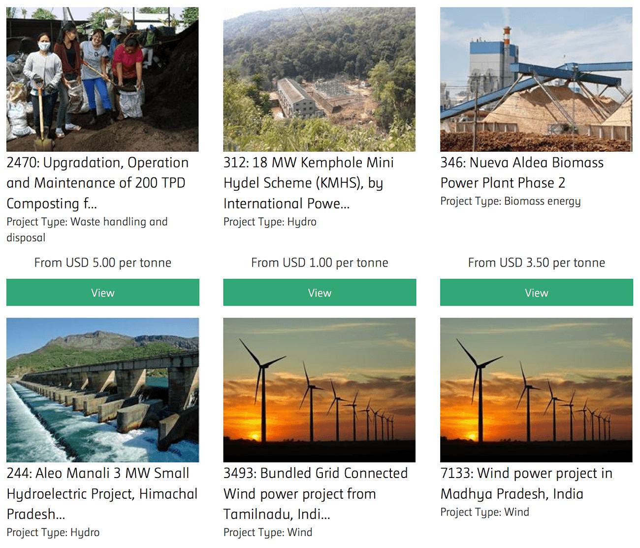 carbon options