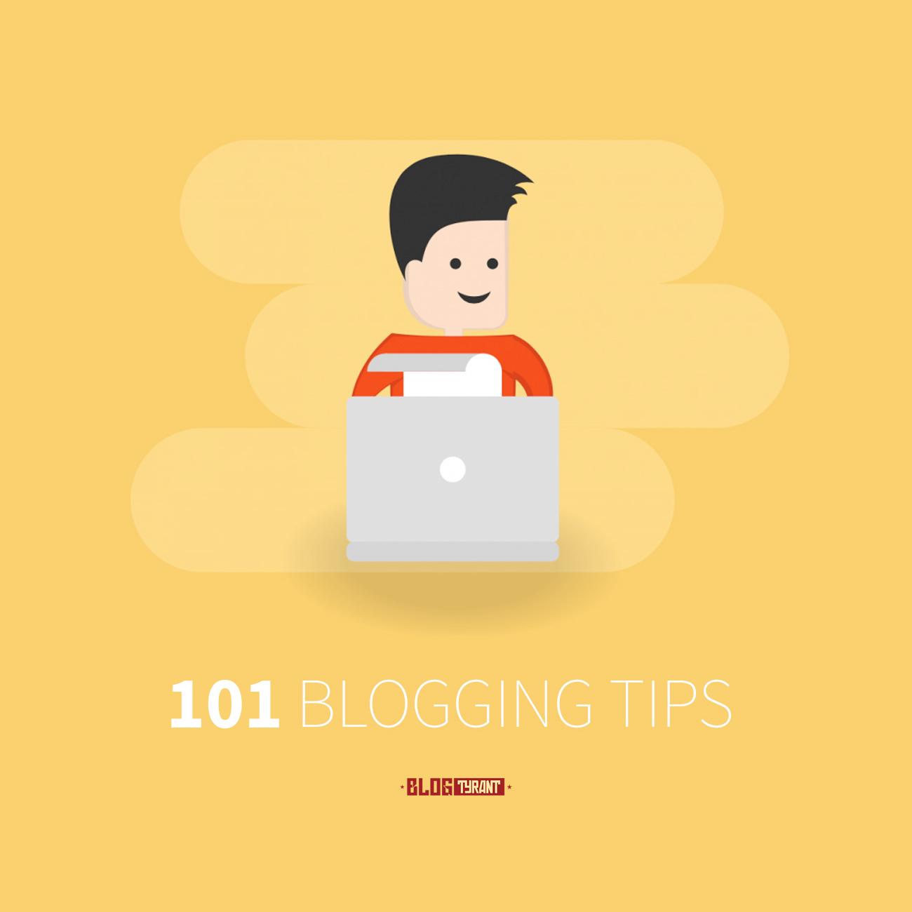 101 blogging tips