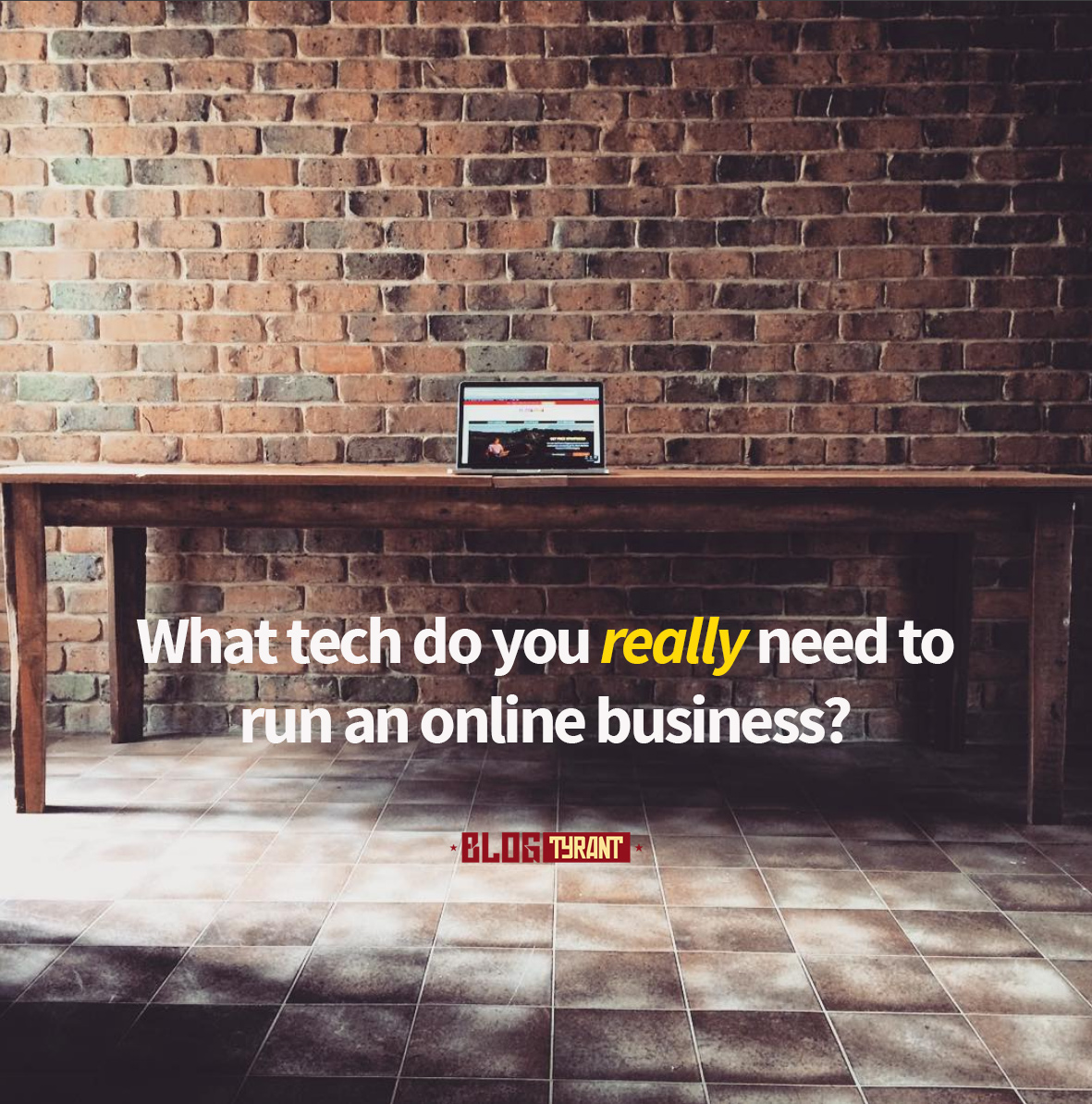 online business tech