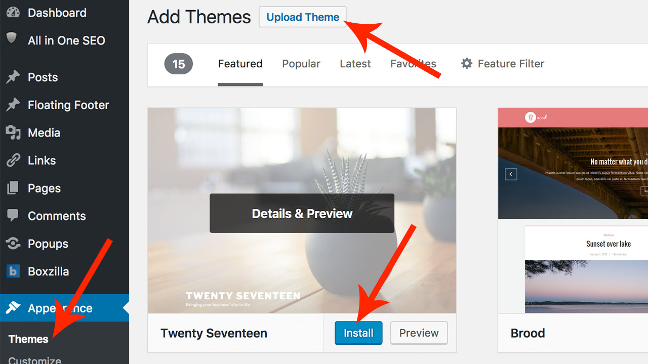 How to Easily Change Your WordPress Theme